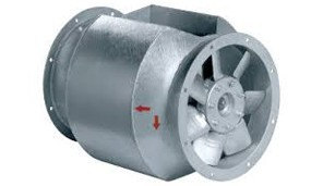 Systemair Bifurcated Inline Axial Fans