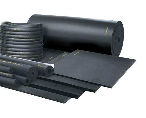 FAWAZ Aeroflex Rubber Insulation Tubes and Sheets Kuwait