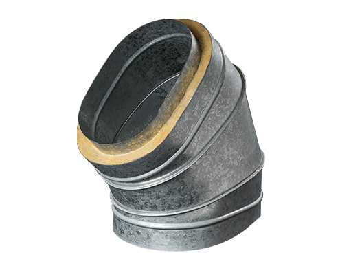 Oval Ducts & Fittings - Double Wall