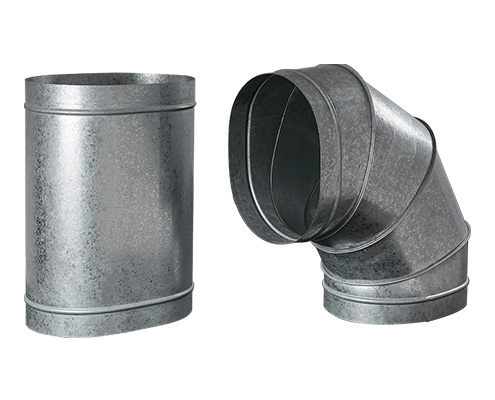 Oval Ducts & Fittings - Single Wall