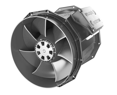 Systemair Circular Duct prioAir Fan FAWAZ Trading Kuwait