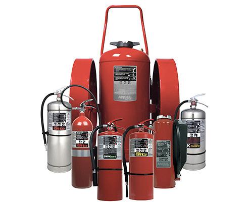 FAWAZ Ansul Mobile Fire Extinguishers Kuwait