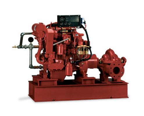 FAWAZ Pentair Aurora Horizontal Split Case Diesel Drive Fire Pumps Series 913 Kuwait