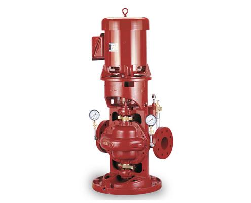 FAWAZ Pentair Aurora Vertical Inline Fire Pump Kuwait