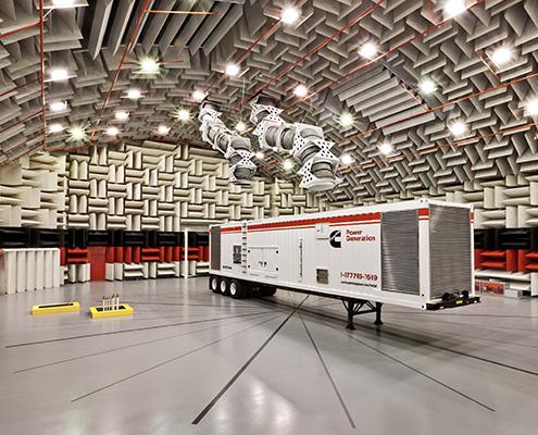 FAWAZ - IAC Acoustics Anechoic Chambers Testing Facility FAWAZ Trading Kuwait