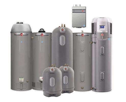 FAWAZ Rheem Electric Water Heater Systems Kuwait