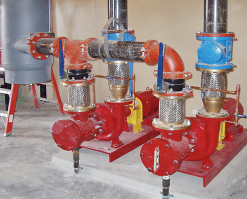 FAWAZ Patterson Frame-Mounted End Suction Pump Kuwait