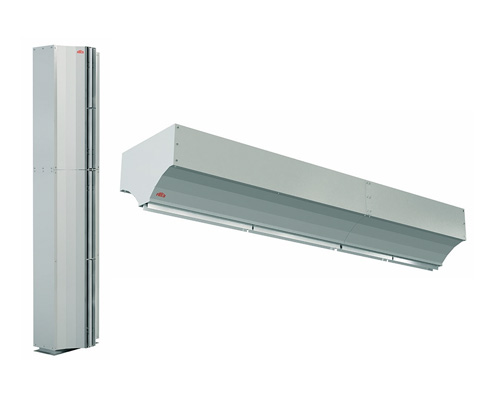 FRICO Air Curtains Industrial Type Vertical Mounting FAWAZ Trading Kuwait