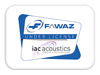 IAC Acoustics FAWAZ Sound Attenuators Ventilation Kuwait